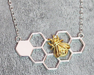 HoneyBee Halskette
