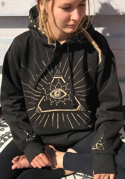illuminati-hoodie-pullover-allsehendes-auge-sacred-geometry-dreieck-montobi-triangle-goa-klamotten-kleidung-psychedelic-heilige-geometrie von MONOTOBI  ॐ Psy-Hippie-Goa-Shop