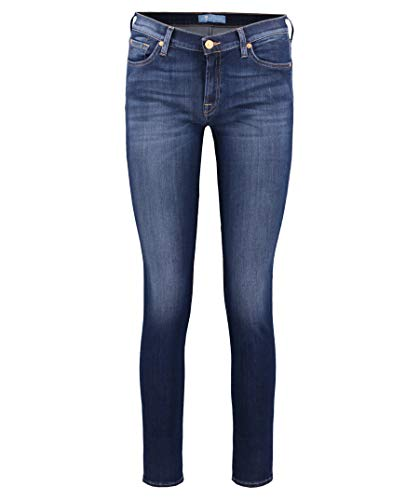 7 For All Mankind Damen The Skinny Jeans, Mid Blue Dd, 25 von 7 For All Mankind