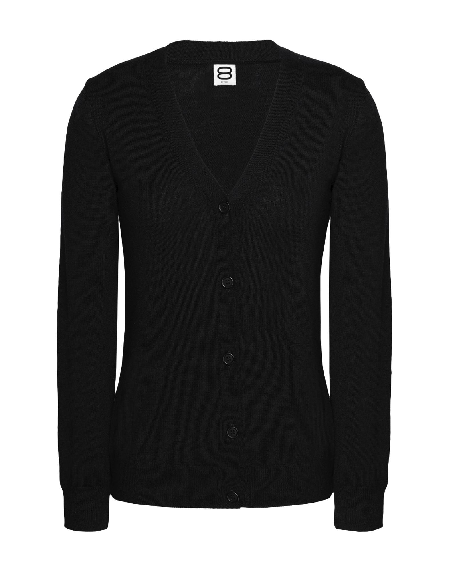 8 by YOOX Strickjacke Damen Schwarz von 8 by YOOX
