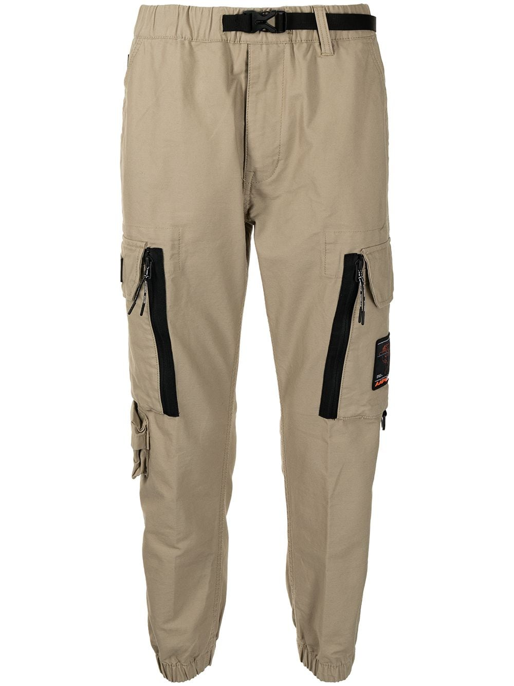 AAPE BY *A BATHING APE® Cargohose mit Logo-Patch - Braun von AAPE BY *A BATHING APE®