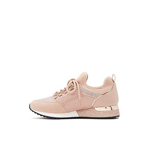 ALDO Damen Courtwood Fashion Schnürschuh Sneaker, (Rose Gold), 36.5 EU von ALDO