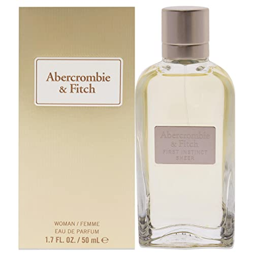 Abercrombie & Fitch First Instinct Sheer Edp Spray 50ml von Abercrombie & Fitch