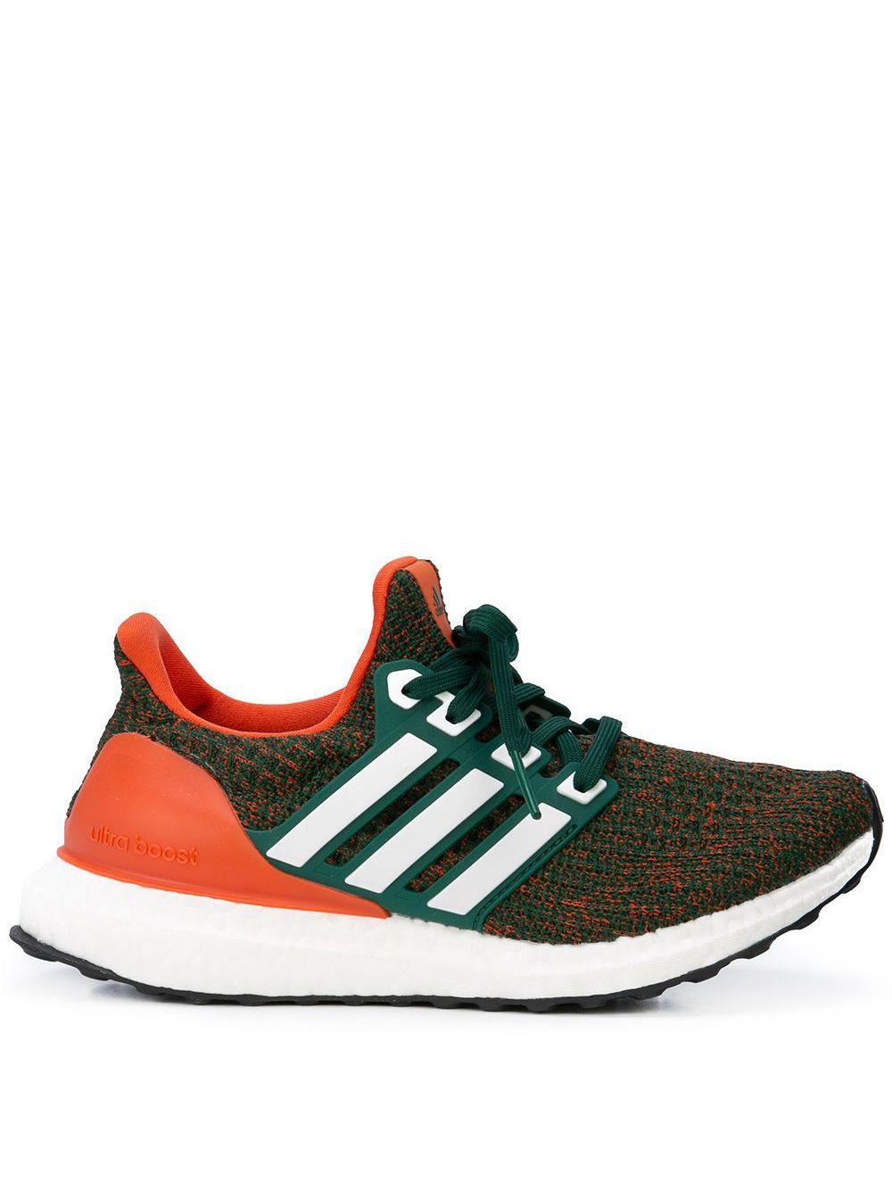 watch e270d 5baf5 Adidas Sock-Sneakers mit Schnürung - Grün von Adidas