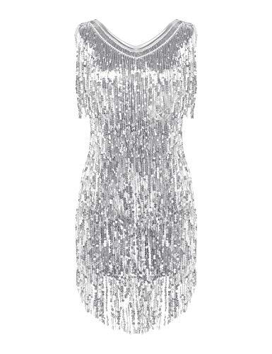 Tanzkleider In Silber Für Frauen Damenmode In Silber Bei Fashn De