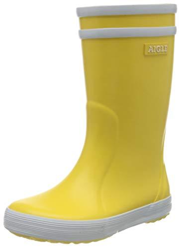 Aigle Damen Malouine BT Gummistiefel, Gelb (jaune/blanc 3), 40 EU (6.5 UK)