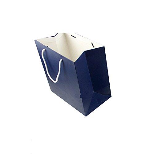 ARTemlos/® Brief/öffner aus Glas und Metall in rot//blau//wei/ß