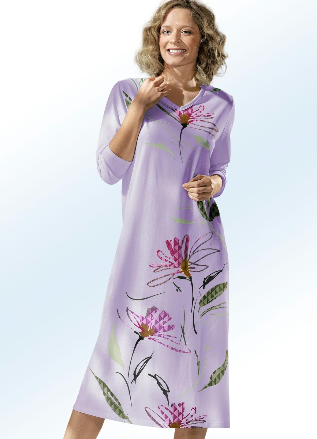 Nachthemden in Lila für Frauen. Damenmode in Lila bei fashn.de