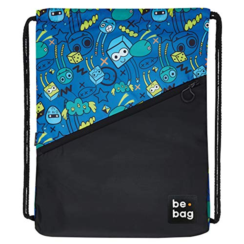 be.bag 24800358 Turnbeutel be.daily, 47cm, 16 Liter, monster party von BE-BAG