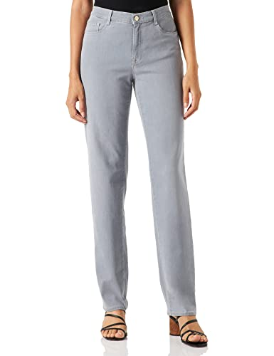 BRAX Damen Style Carola Blue Planet Bootcut Jeans, Used Light Grey, W27/L32 (36) von BRAX