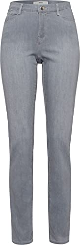 BRAX Damen Style Mary Blue Planet Nachhaltige 5- Pocket Jeans, Grau (Light Grey 07), 38 von BRAX