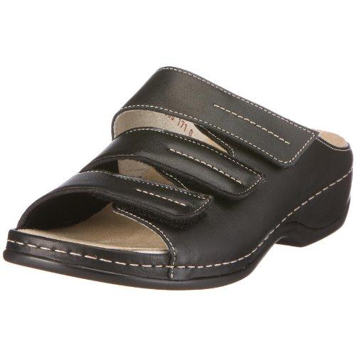 Berkemann Fedora, Damen Pantoletten - Schwarz (schwarz 015), 40 EU (6.5 Damen UK)