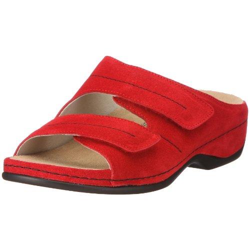 Rot Melbourne Damen Veloursleder 39 Pantoletten washable 5 rot UK 01080 250 Fedora Clogs 6 Berkemann amp; zfwI5qx