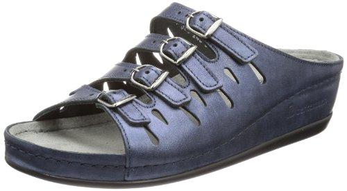 Blau blau 364 5 364 Hassel 00737 UK amp; 5 4 37 Berkemann Damen Clogs Pantoletten 108Cqxw