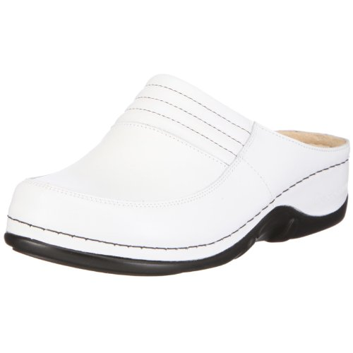 Berkemann Heliane 03457-130, Damen Clogs & Pantoletten, Weiß (weiß), EU 42 (UK 8)