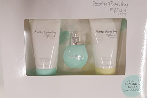Betty Barclay Pure Pastel Mint 3-er Set Geschenkset mit 20 ml Eau de Toilette (+Lemon) von Betty Barclay