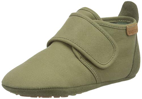 Bisgaard Jungen Unisex Kinder Baby Cotton First Walker Shoe, Green, 19 EU von Bisgaard