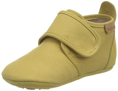 Bisgaard Unisex-Baby Cotton First Walker Shoe, Mustard, 24 von Bisgaard