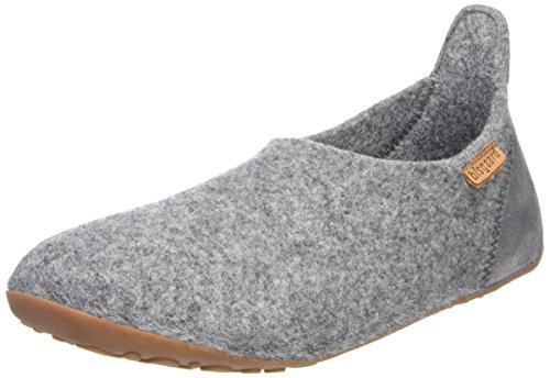 Bisgaard Unisex-Kinder Wool Basic Slipper, Grau (70 Grey), 25 EU von Bisgaard