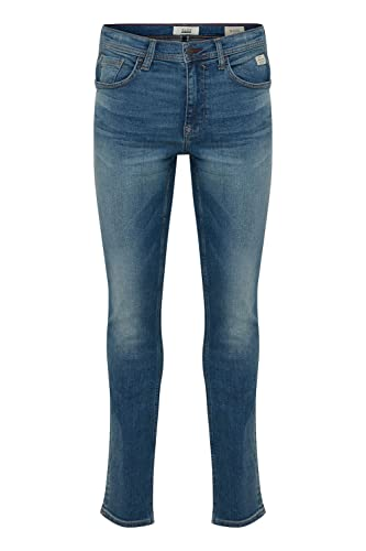 Blend Herren Twister Noos Slim Jeans, Blau (Denim Light Blue 76200), W32/L32 (Herstellergröße: 32/32) von Blend