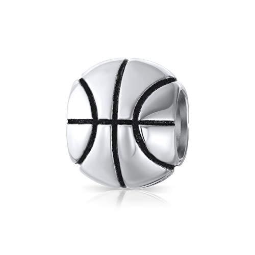 Bling Jewelry Basketball 925 Sterling-Silber Sports Bead von Bling Jewelry