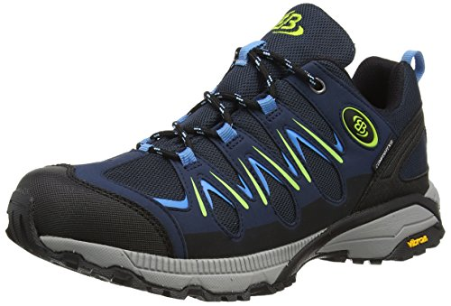 Brütting Expedition Damen Walkingschuhe, Marine/ Blau/ Lemon, 38 EU von Brütting