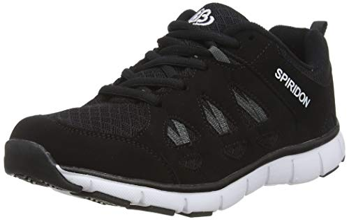 Herren Release Sneaker, Grau (Grau/Grün Grau/Grün), 44 EU Brütting