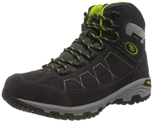 Brütting Mount Adams High Outdoor- & Trekkingschuh Herren, Anthrazit/ Lemon, 44 EU von Brütting