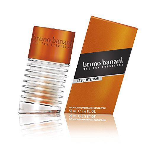 bruno banani Absolute Man – Eau de Toilette Natural Spray, 50ml von bruno banani