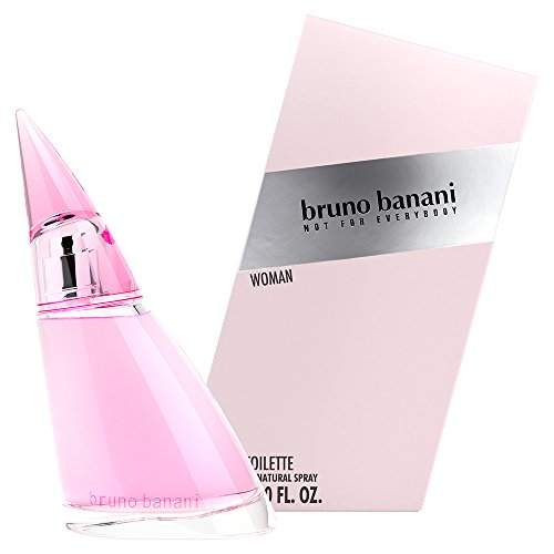 bruno banani Woman – Eau de Toilette Natural Spray – Blumig-fruchtiges Damen Parfüm – 1er Pack (1 x 60ml) von bruno banani