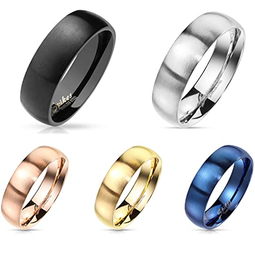Freundschaftsringe edelstahl matt  Ringe von Bungsa für Männer günstig online kaufen bei fashn.de