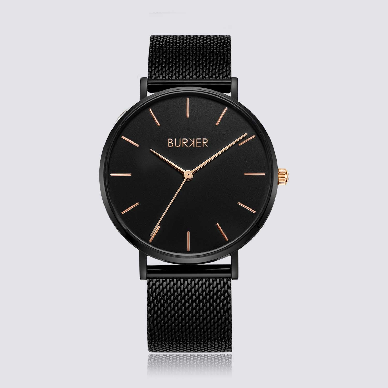 Burker RUBY BLACK/BLACK ROSE GOLD von Burker