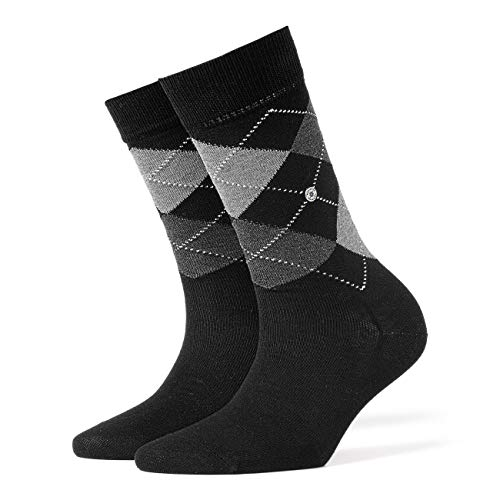 Burlington Damen Socken 22188 Covent Garden SO, Gr. 36-41, Schwarz (black 3000) von Burlington