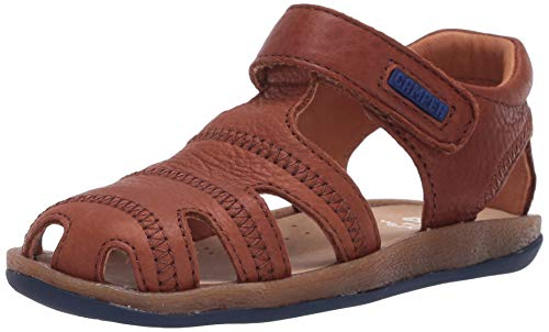 Camper Bicho Kids Fisherman Sandal, Rust/Copper, 30 EU von CAMPER