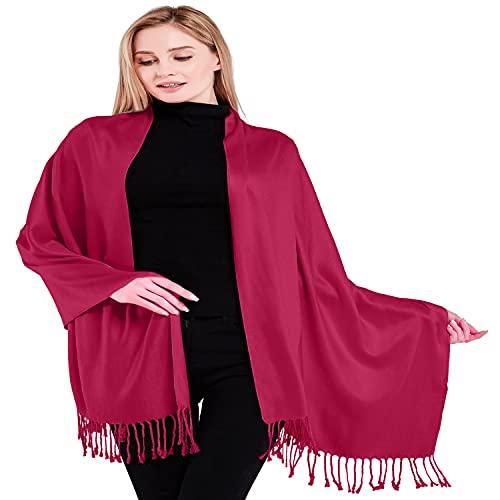 schals von cj apparel in rosa f r damen. Black Bedroom Furniture Sets. Home Design Ideas