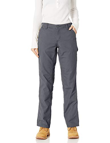 Carhartt Womens Original Fit Crawford Work Utility Pants, Coal, W4/REG von Carhartt