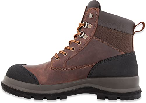 Carhartt Herren Detroit 6 Inch Rugged Flex S3 Safety Boot Construction Shoe, Dark Brown, 45 EU von Carhartt
