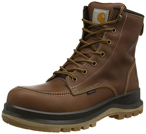 Carhartt Herren Hamilton Rugged Flex Waterproof S3 Safety Boot Construction Shoe, Tan, 44 EU von Carhartt