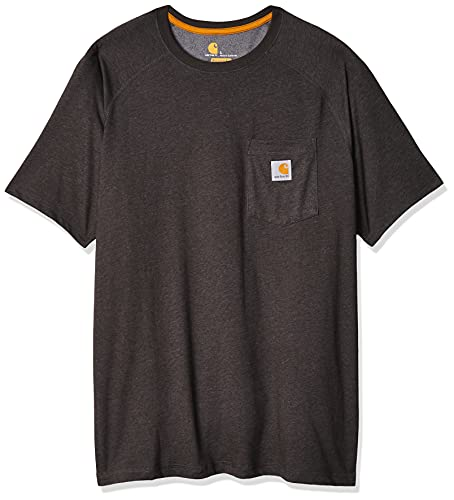 Carhartt Herren 100410 T Shirt, Carbon Heather, S EU von Carhartt