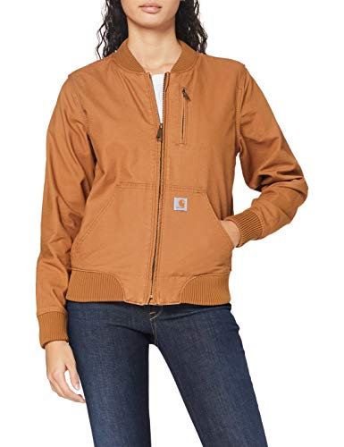 Carhartt Womens Crawford Bomber Jackets, Brown, XS von Carhartt