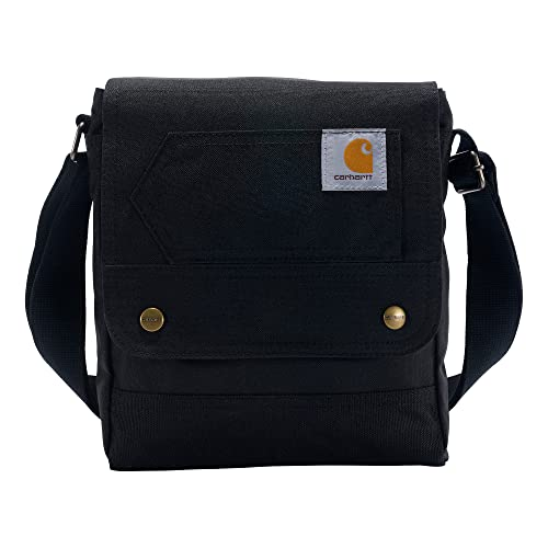 Carhartt Womens Crossbody Luggage- Messenger Bag, Black, OFA von Carhartt