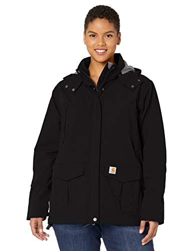 Carhartt Womens Shoreline Jackets, Black, XL von Carhartt