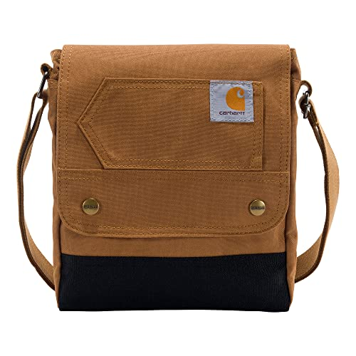 Carhartt Womens Crossbody Luggage- Messenger Bag, Brown, OFA von Carhartt