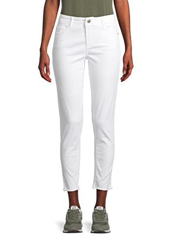 Cartoon Damen 6217/7320 Jeans, Bright White, 44 von Unbekannt