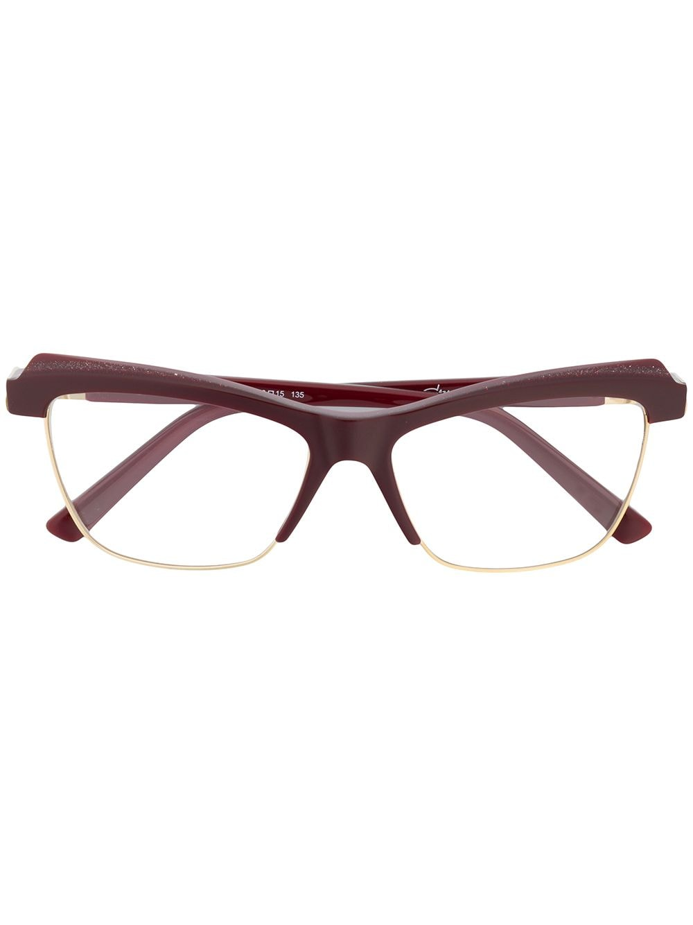 Cazal Cat-Eye-Brille - Rot von Cazal