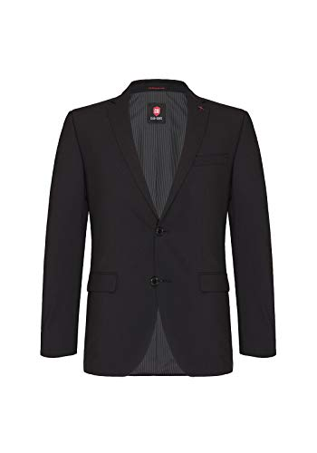 CG CLUB of GENTS Herren Blazer SS 57 - 0008/90, (Schwarz) ,Gr. 27 von Club of Gents