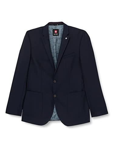 CG CLUB of GENTS Herren Blazer CG Ascott ,  40-222N0/62(Blau), Gr. 56 von Club of Gents
