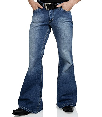 Comycom Jeans Schlaghose Star used washed Reloaded 32/34 von Comycom