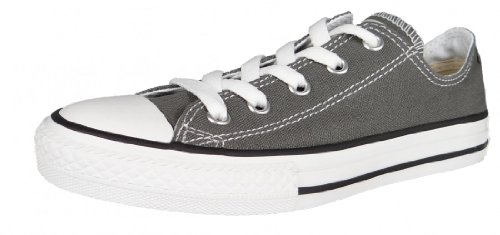 Converse CTAS-OX-Charcoal-YOUTH, Unisex - Kinder Sneaker, Grau (Charcoal), 28 EU von Converse