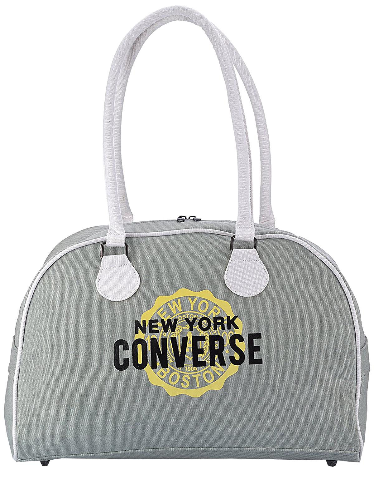 c04dd213368f Converse Tasche Bowler Shopper grau Damen Handtasche Grau von Converse